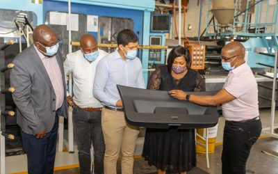Acoustex hosts high level stakeholder factory tour